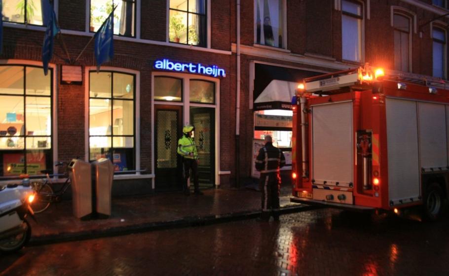 Albert Heijn dicht wegens vreemde lucht