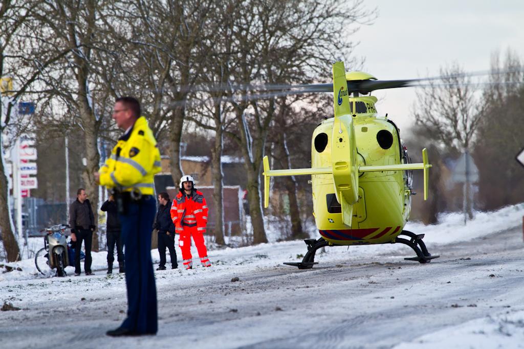 Dodelijk ongeval bij Franeker
