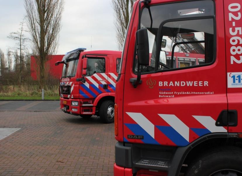 Overhandiging nieuw brandweermaterieel Súdwest-Fryslân