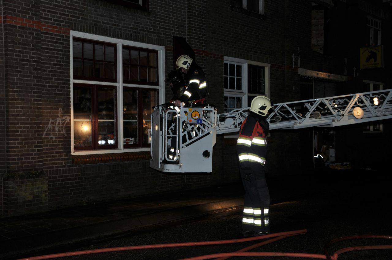 Onderzoek naar brand in bedrijvenloods
