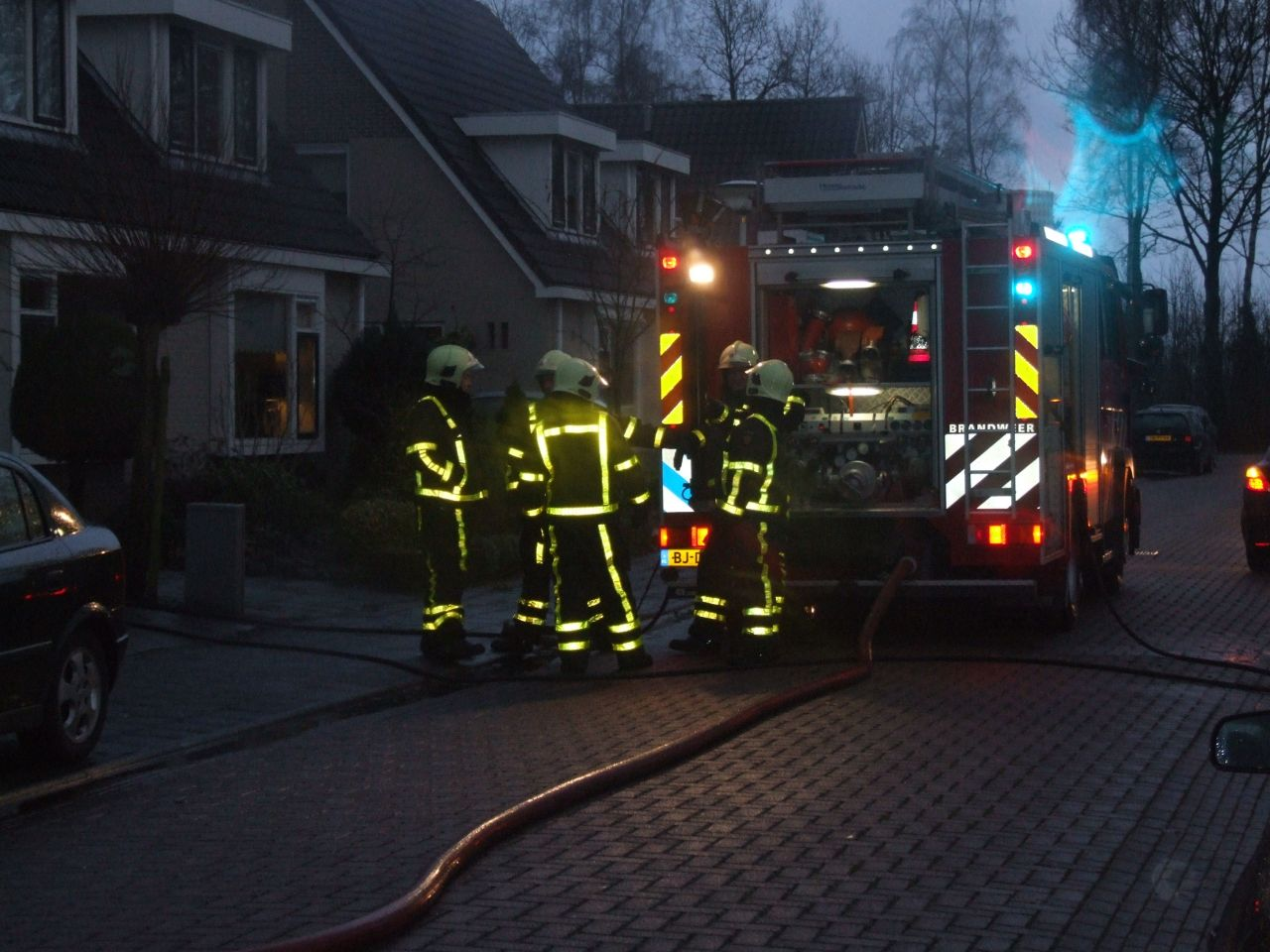 Brand in bijgebouw