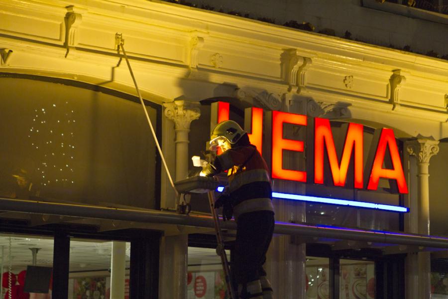 Rokende lamp doet brandweer uitrukken