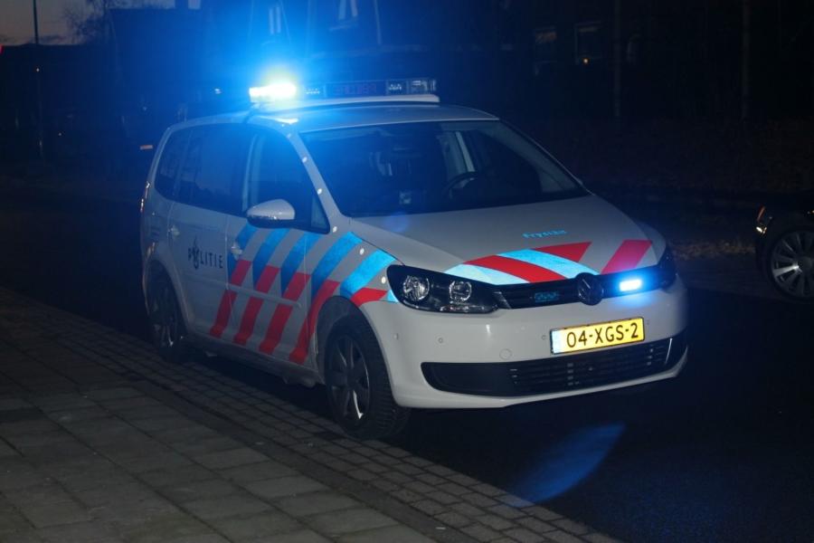 Ongeval tussen twee personenauto's