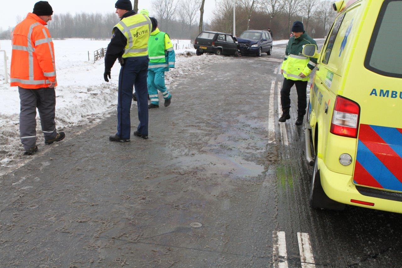 Vader en dochter gewond bij ongeval