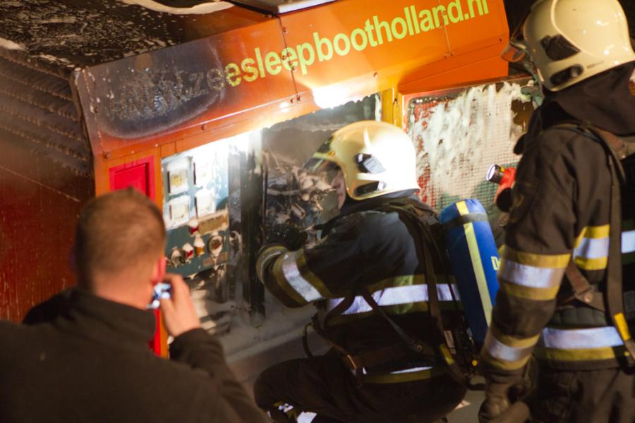 Brandje op sleepboot Holland
