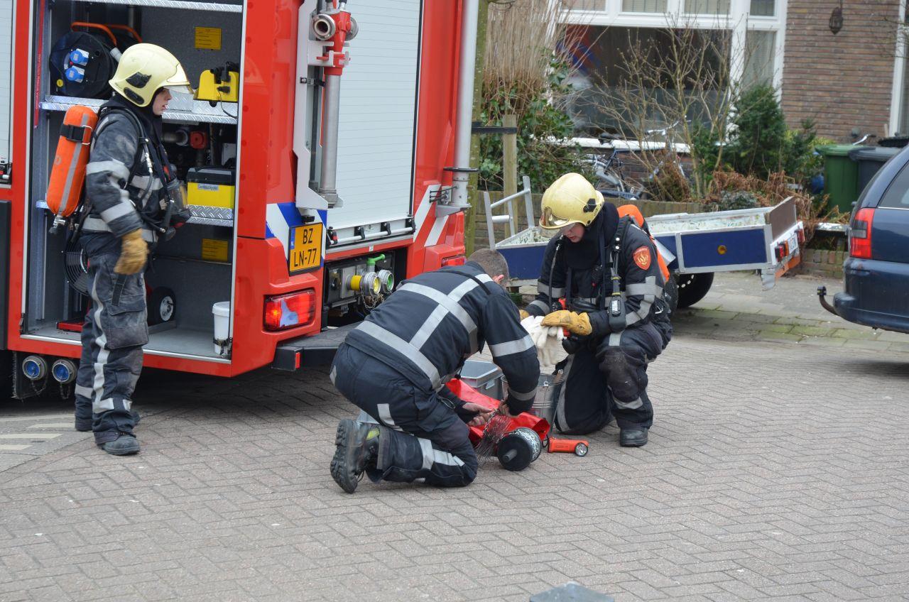 Brandweer ingezet voor schoorsteenbrandje
