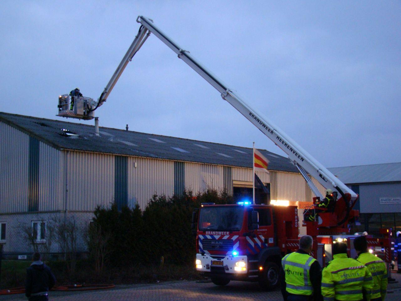 Hennepkwekerij ontdekt bij brand in botenloods