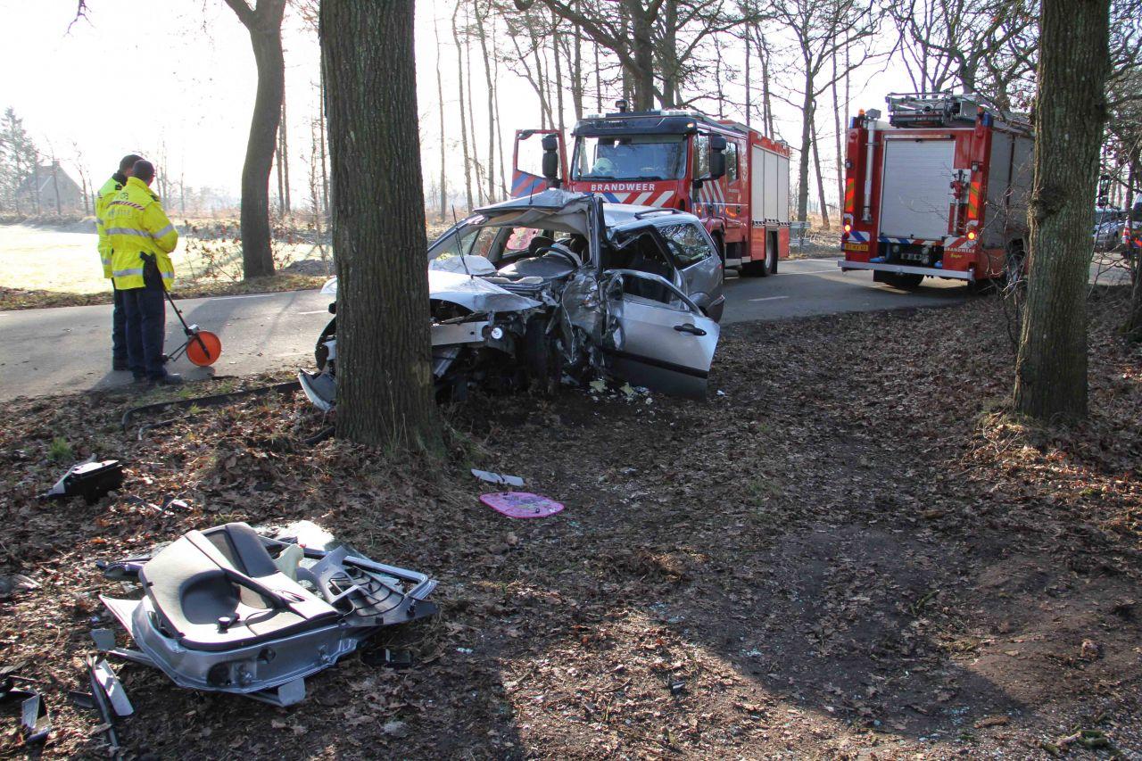 Vrouw omgekomen bij ongeval