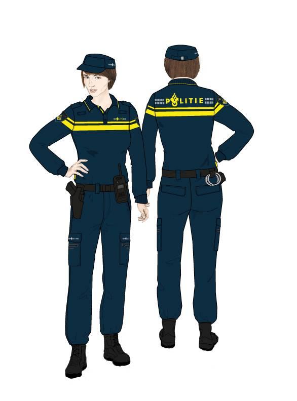 Politie krijgt nieuw uniform