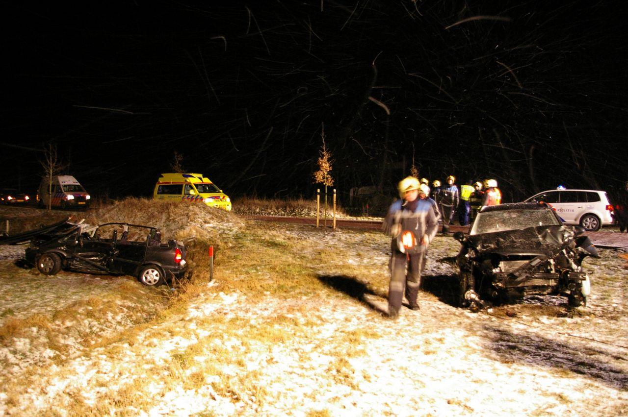 Meerdere gewonden bij ongeval Makkinga