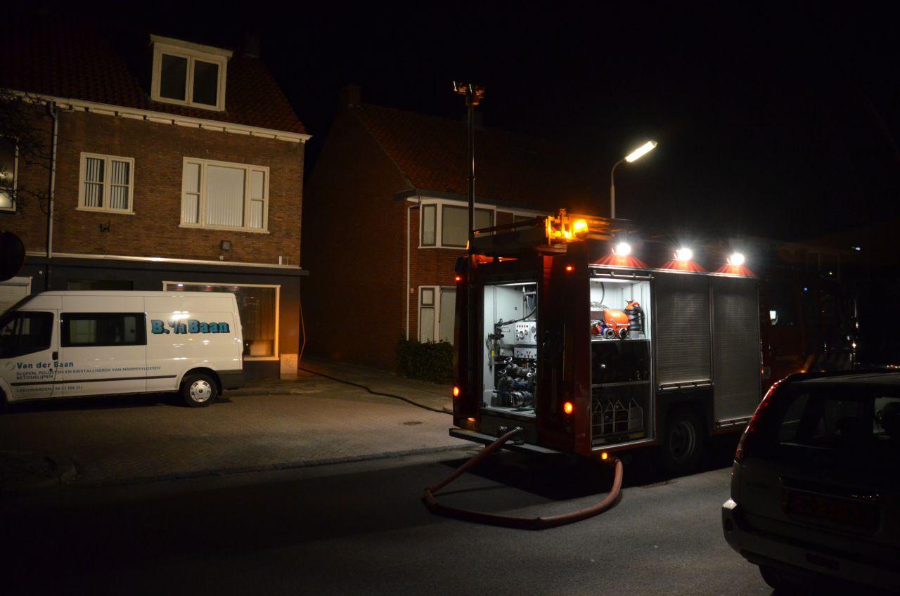 Uitslaande brand in garagebox [update]