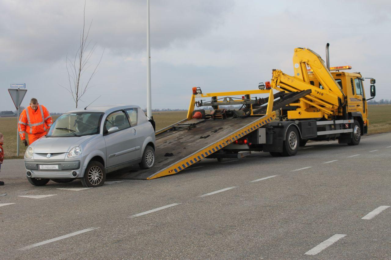 Ongeval met 45-km voertuig