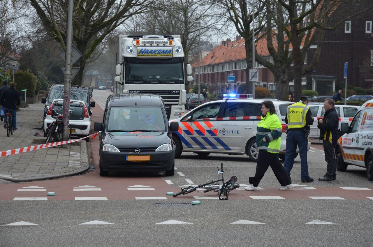 Fietsster gewond bij ongeval