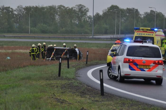 Gewonden bij eenzijdige ongevallen
