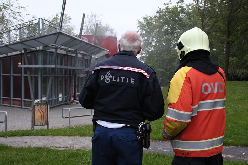 Forse brand in jeugdcentrum