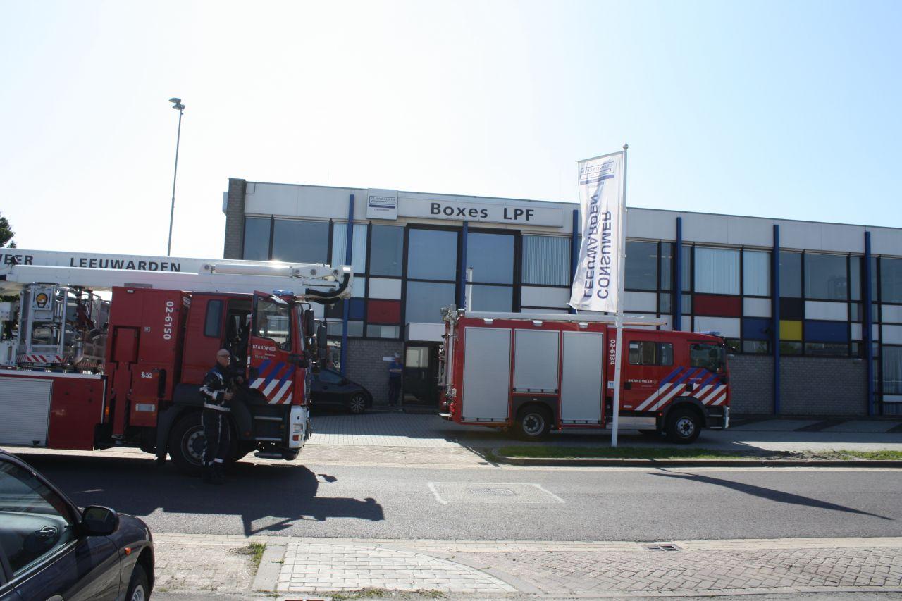 Klein brandje bij Boxes LPF