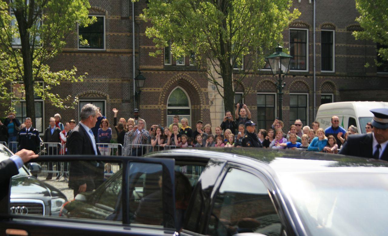 Veel politie bij bezoek koning Willem Alexander