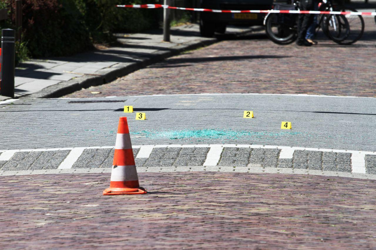 Kinderen getuige schietpartij: man gewond