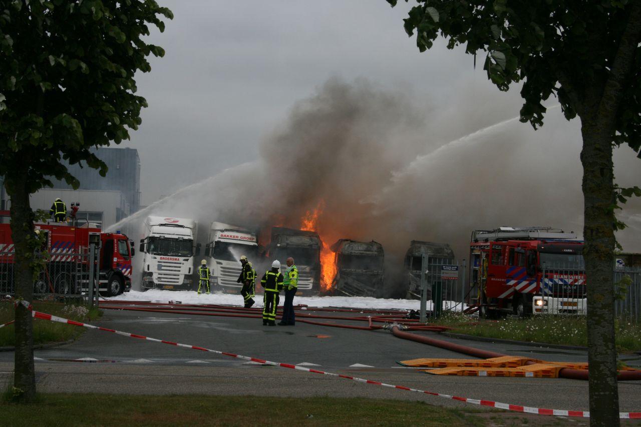 Zeer grote brand Heerenveen [update 12:55]