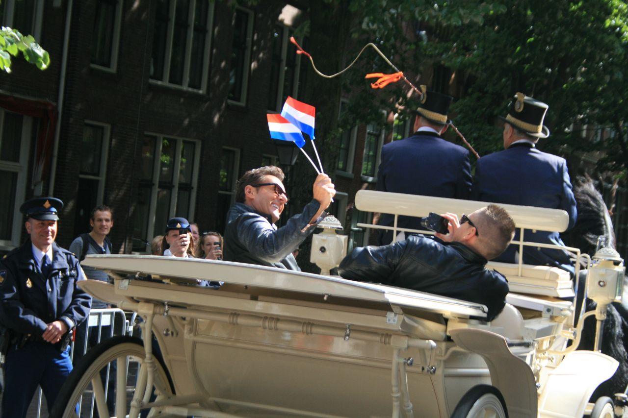 Koning Willem Alexander op bezoek in Fryslan
