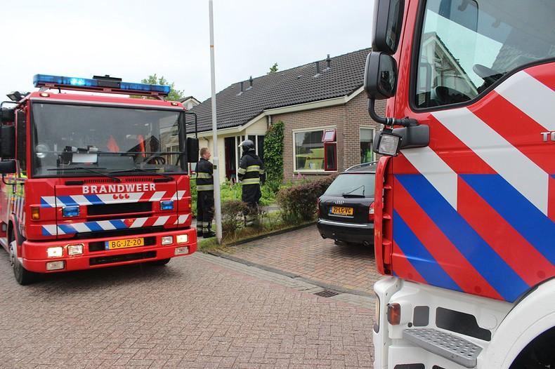 Brand in vaatwasser zorgt voor grote uitruk brandweer