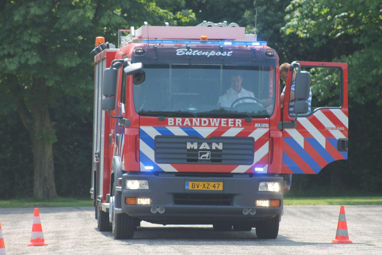 [Foto update] Brandweer test optische signalsering en geluidssignalen