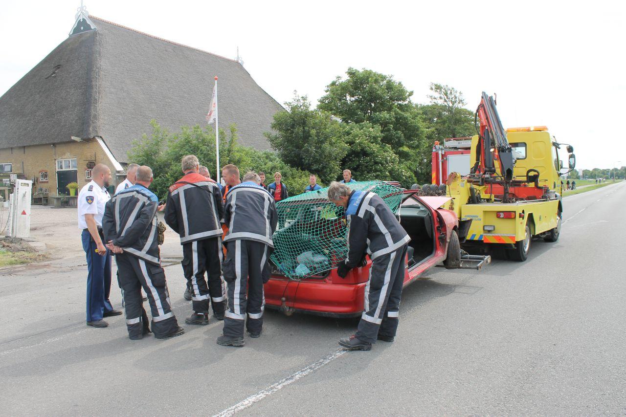 Gewonde bij ongeval op Ljouwerterdyk