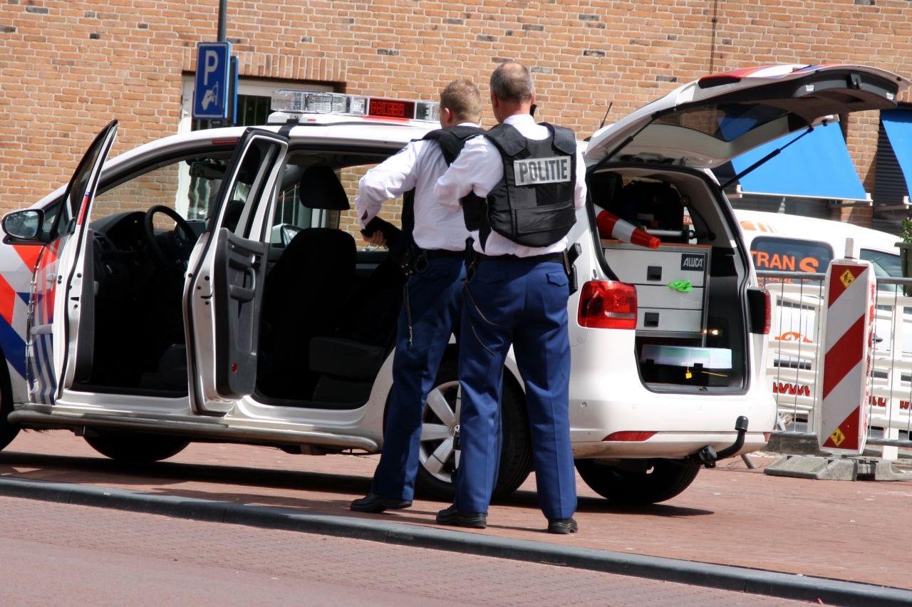 Zoektocht naar gewonde verdachten schietincident