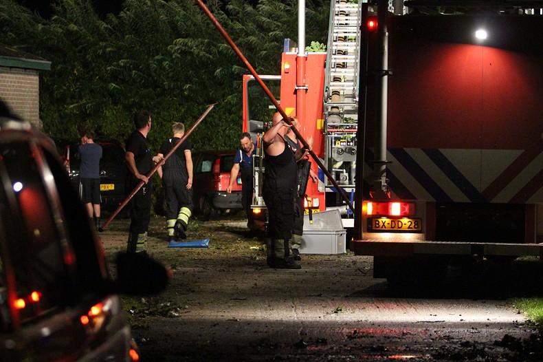 Boom op camper: 7-jarig meisje overleden