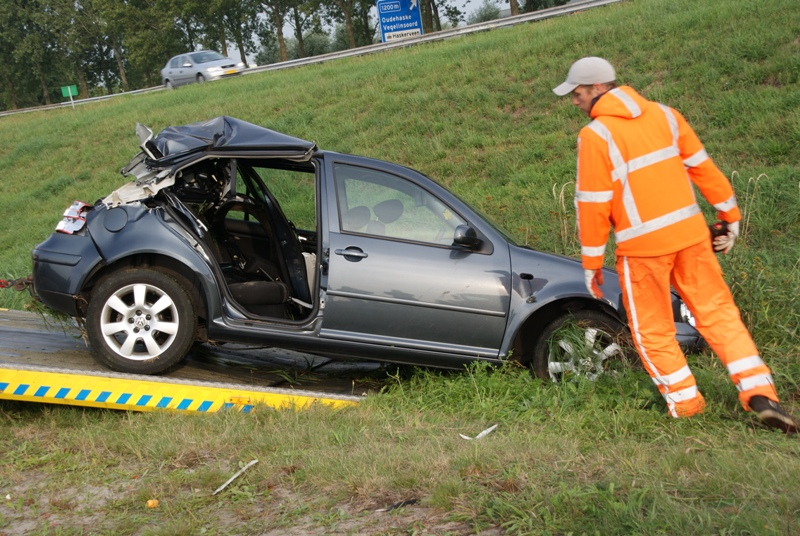 Gezin gewond bij ongeval