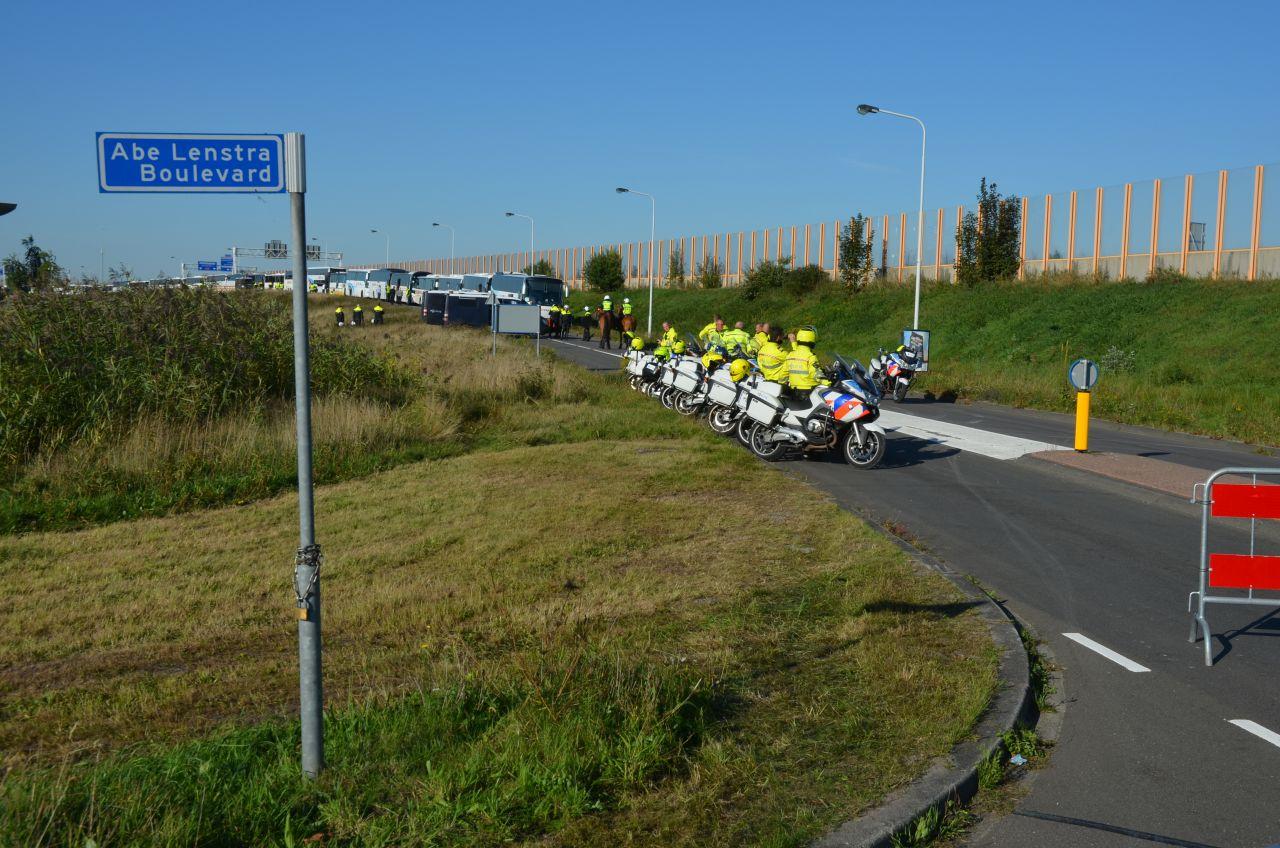 Grote inzet politie bij Heerenveen-Cambuur