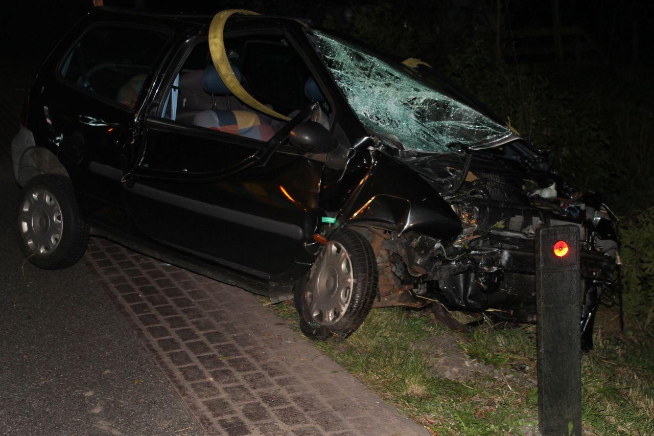 Gewonde bij eenzijdig ongeval