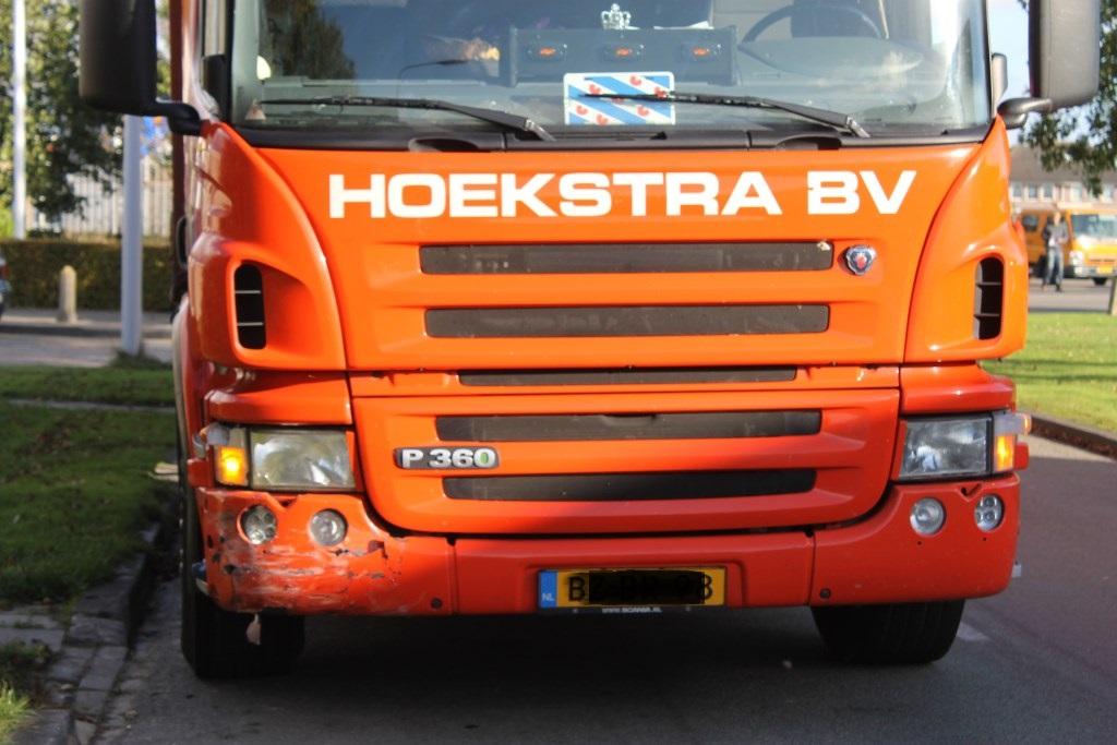 Bestuurder gewond bij ongeval Franeker