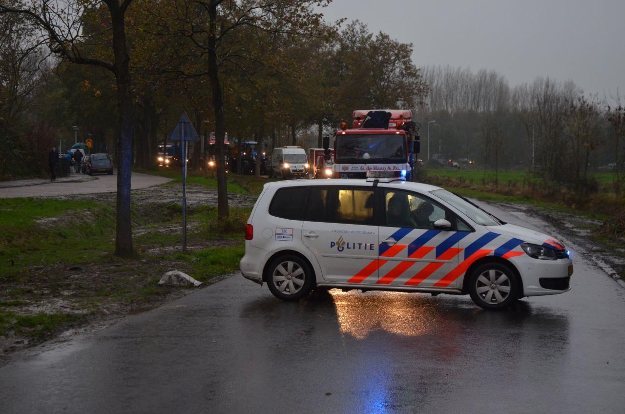 Twee gewonden bij aanrijding
