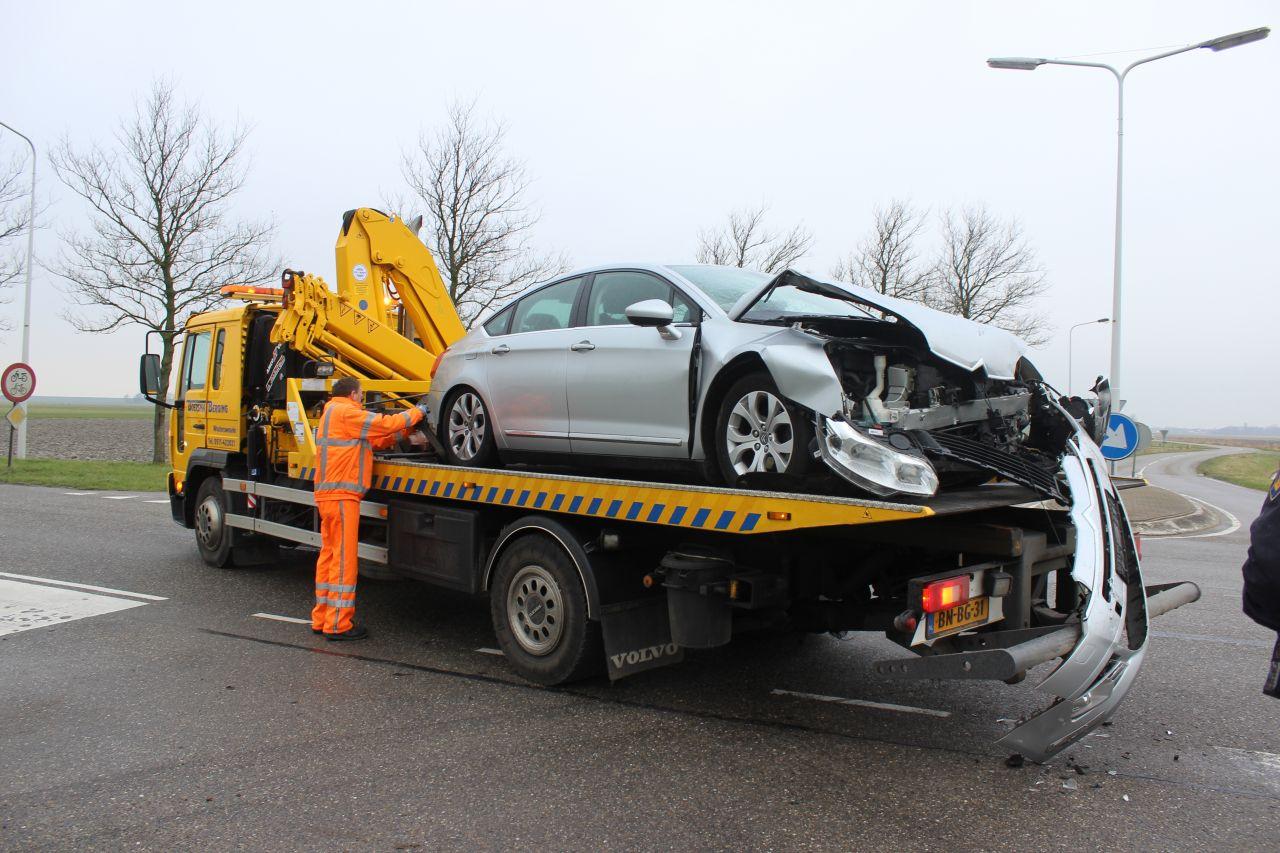Vrouw gewond bij ongeval Hantumhuizen