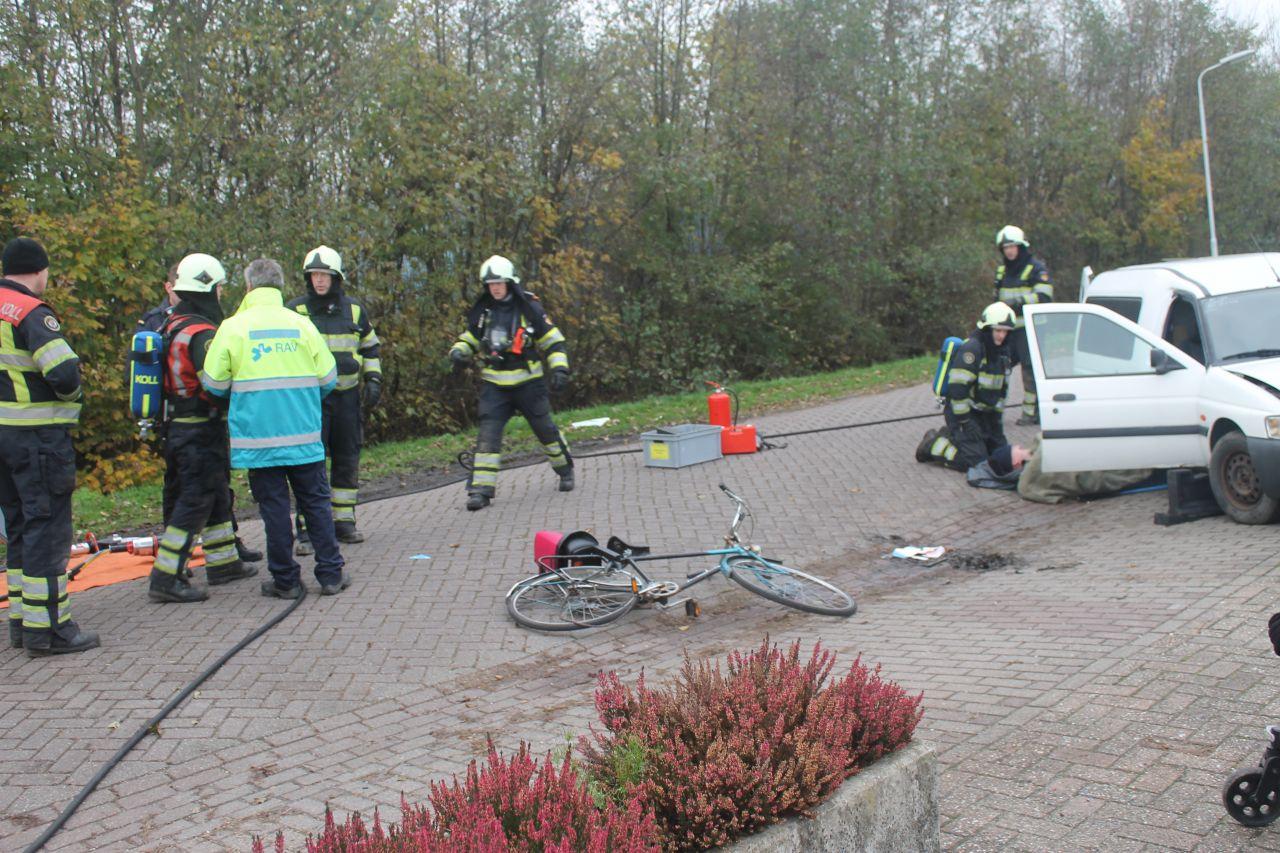 Brandweer organiseert oefencarousel