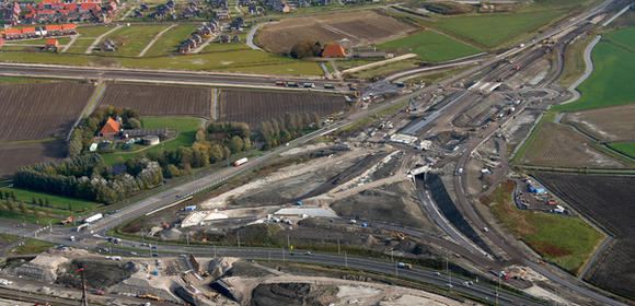 Nieuwe verkeerssituaties Knooppunt Werpsterhoek