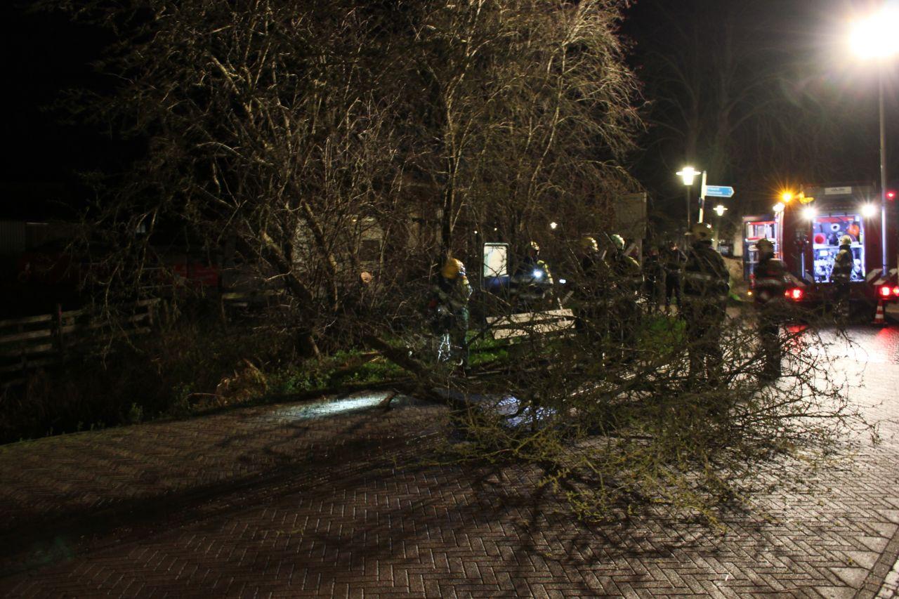 Sinterklaasstorm in Friesland
