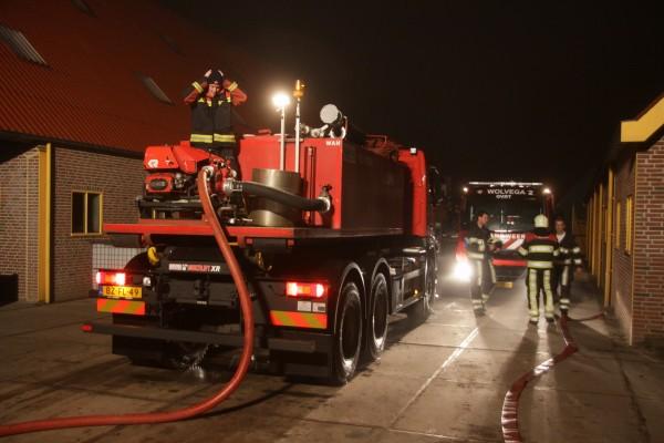 Brandgerucht blijkt grote brandende afvalbult