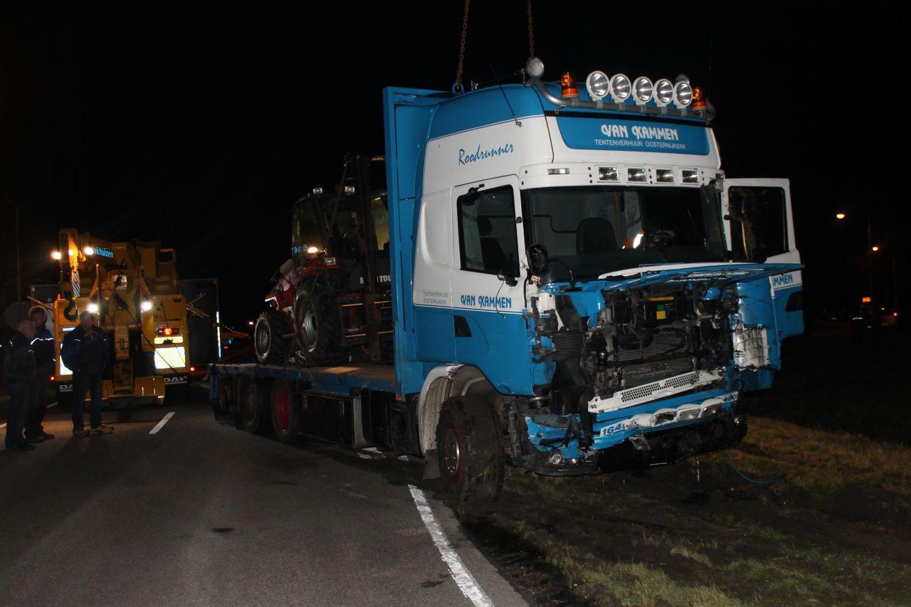 Dongerawei – N358 urenlang gestremd door ongeval