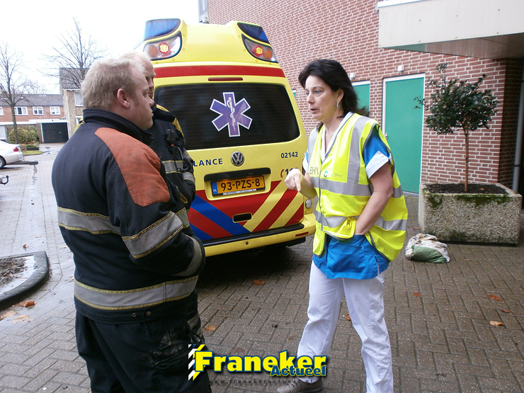 Brand in Saxenstate snel onder controle