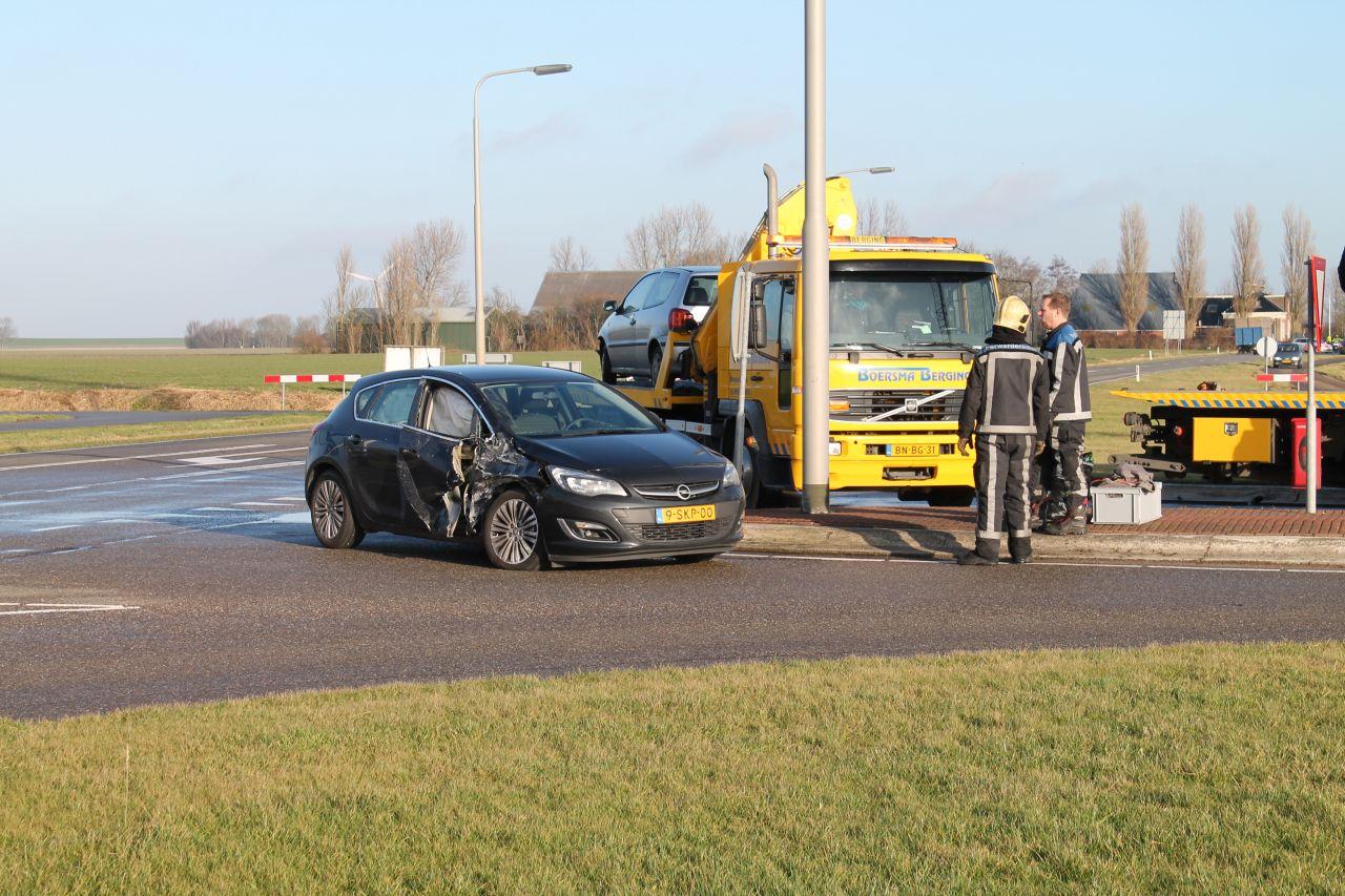 Motorrijder gewond op N357 na botsing met auto
