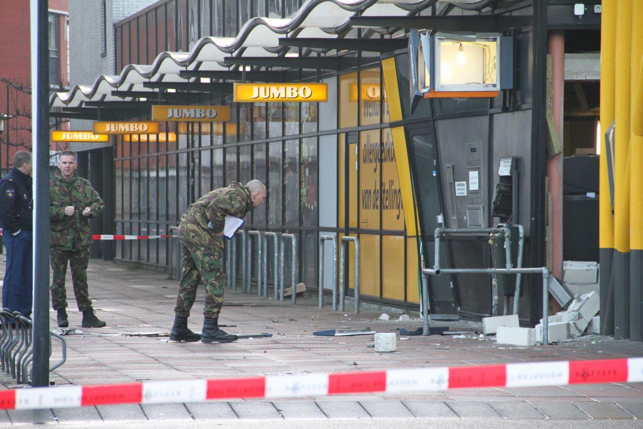 Explosief materiaal aangetroffen na plofkraak Wolvega