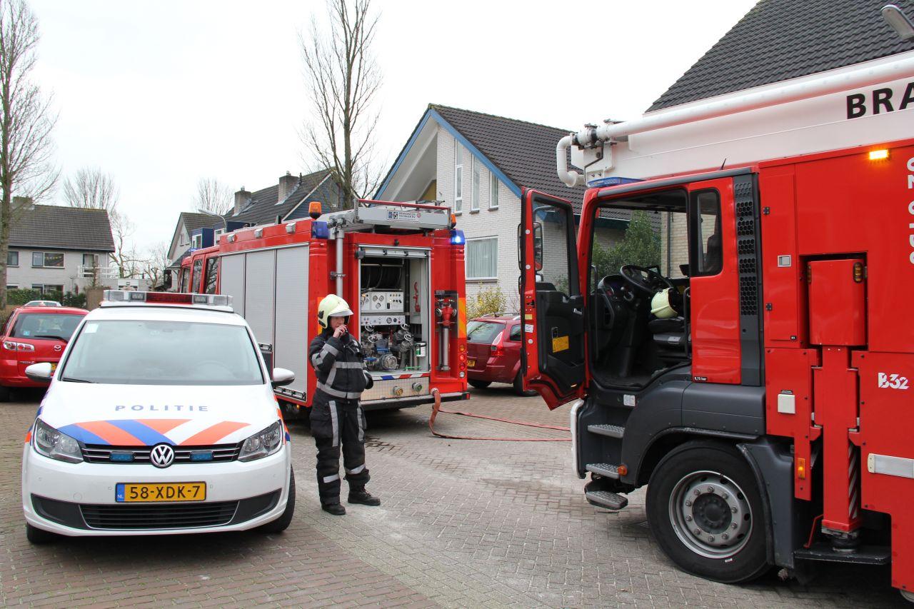 Brand in meterkast en valse melding school