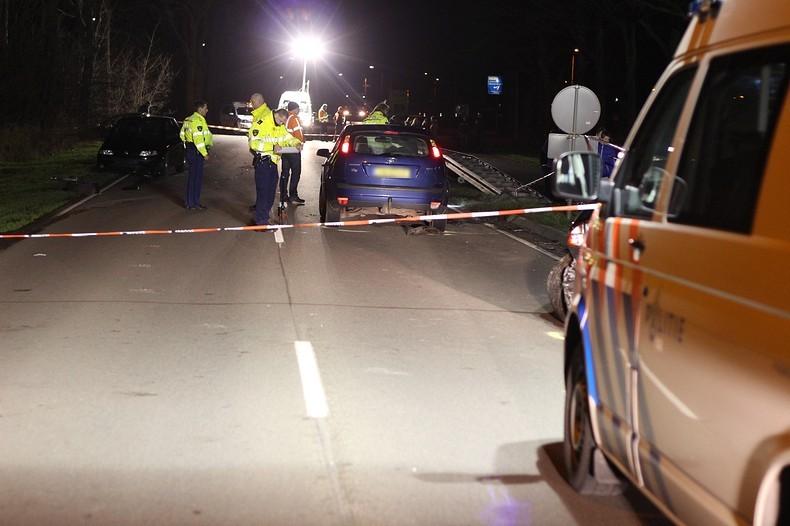 Vier auto's in botsing door bestuurster met drank op