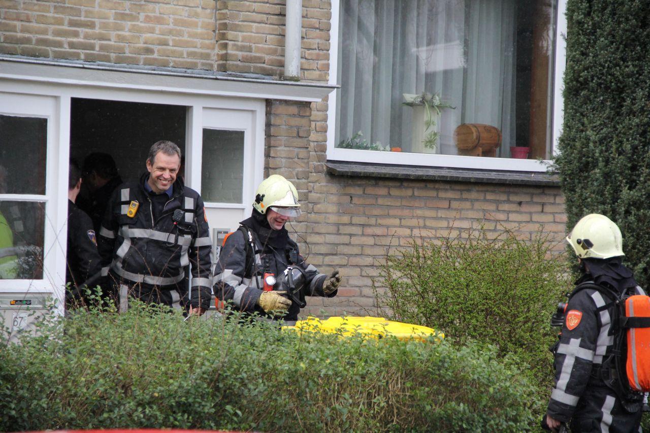 Brandweer ingezet bij hennepkwekerij