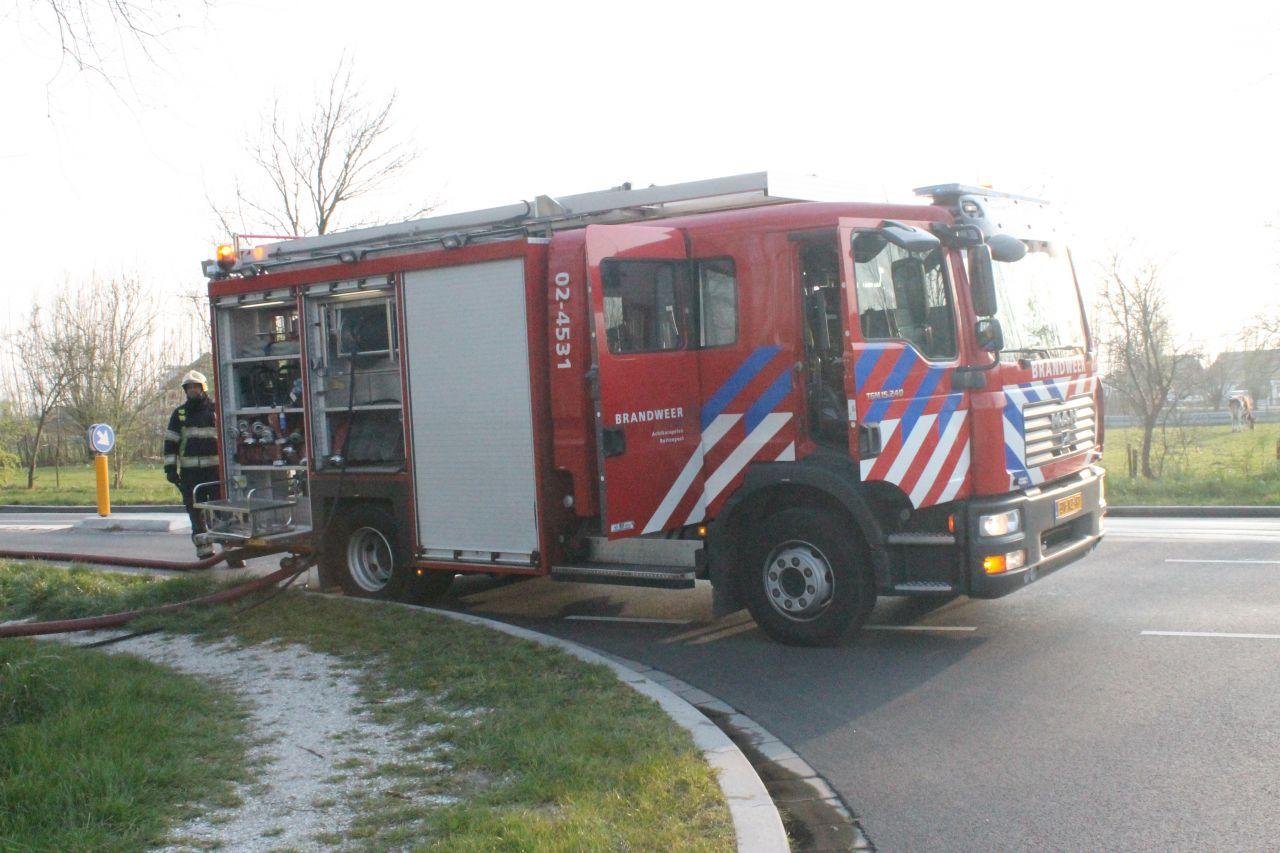 Brandweer in actie voor twee branden