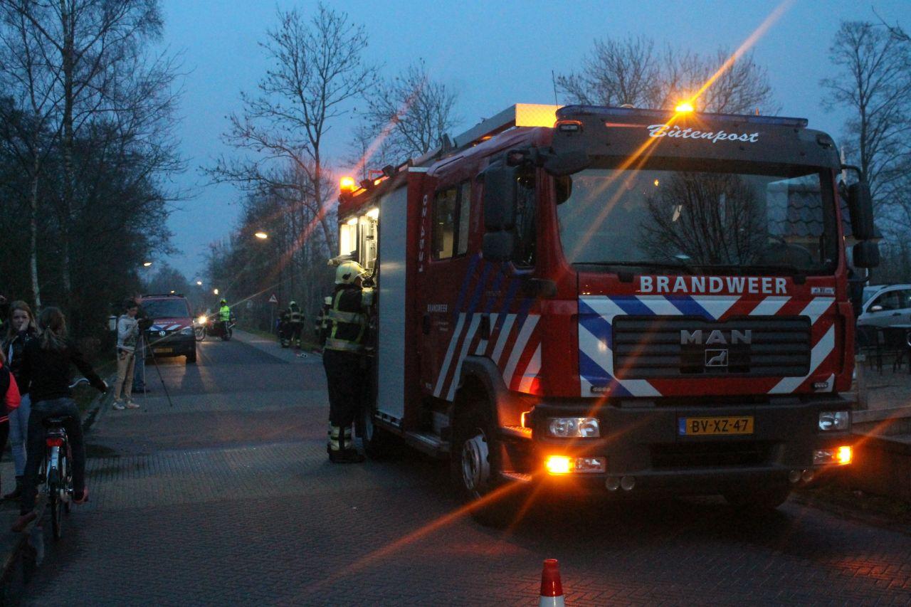 Brandweer gealarmeerd voor dakbrand