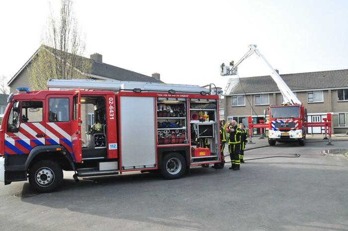 Forse schuurbrand: brandweer behoudt woning
