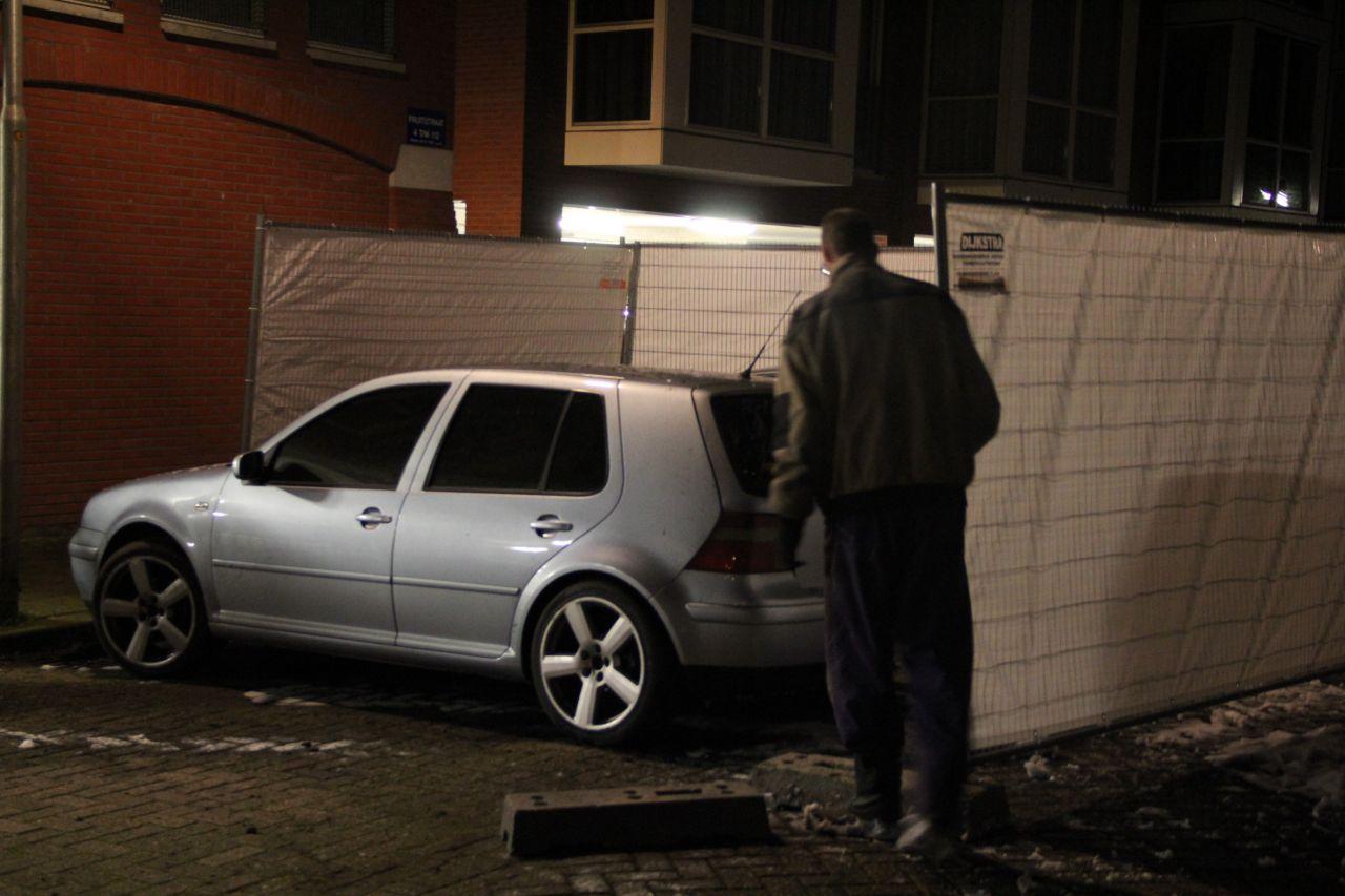 Weer een autobrand in Leeuwarden